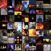 verschiedene Lichtprojekte