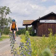 Bayerisch Böhmerischer Freundschaftsweg, Radlerbahnhof Schwarzhofen