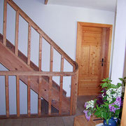 Treppenaufgang Feriewohnung Hanauerhof