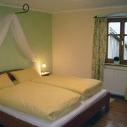 Ferienwohnung Kräutergarten Schlafzimmer