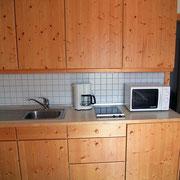 Fewo Obstgarten Küchenzeile mit gehobener Austattung