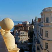 Unser Blick vom Balkon