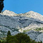 Das Biokovo Gebirge zum Greifen nah