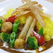 春野菜たっぷりカレー