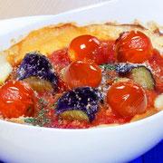 茄子とトマトのドリア