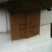 Firmenschild Bodensee Backhäusle