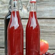 Grundrezept: Selbstgemachter Fruchtsirup