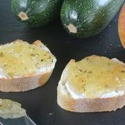 Zucchini-Marmelade