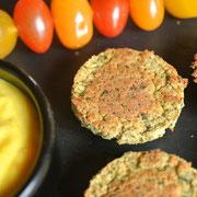 Falafel aus Kichererbsen aus dem Ofen