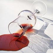 Über Salz und Rotweinflecken - Fleckenbehandlung - Teil II