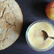 Genialer Apfel-Zwiebel-Brotaufstrich, vegetarisch
