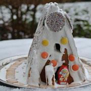 Lebkuchenhaus einfach selbst bauen