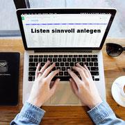 Listen und Tabellen sinnvoll anlegen: 4 Tipps