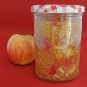 Zitronen-Apfel-Marmelade