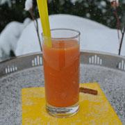 Orangen-Zimt-Smoothie