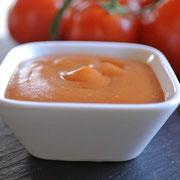 Grundrezept für Ketchup aus frischen Tomaten