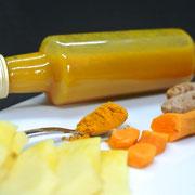 Ingwer-Kurkuma-Sirup mit Honig