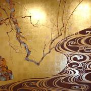 Восточная роспись в японском стиле.2