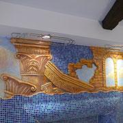 Роспись стен квартиры на Интернациональной.