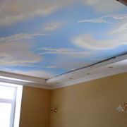 Роспись стен и потолка квартиры на Урицкого