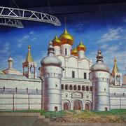Роспись стен и потолков ресторанов и кафе
