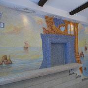Дизайн стен кухни