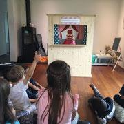 Kindergeburtstag mit Kasperlitheater
