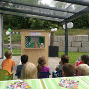 Kasperlitheater an 5. Geburtstagparty