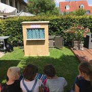 Gartenparty mit Kasperlitheater Kinderunterhaltung