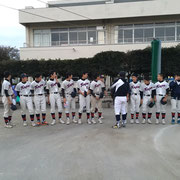 高野コーチへ卒団報告