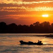 Der prächtige Irrawaddy River.