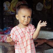 Burmesischer Junge