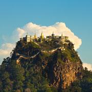 Der Bergtempel Mount Popa.