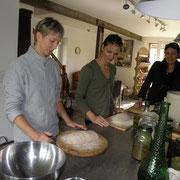 stage cuisine pain et plantes sauvages