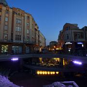 Roman stadium @ pedestrian mall [Plovdiv/Bulgaria]