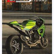 January 2016 Press kit Lussiana Disegno for Kawasaki