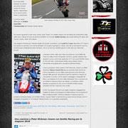 9 November 2017 Peter Hickman on Road Racing Core