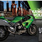 2016 Motorbike Lussiana Disegno h2ld in Korea