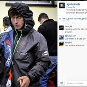August 2014 Guy Martin to AGV Helmets on Instagram  http://instagram.com/p/rpQg3lkswm/?modal=true