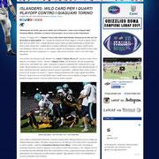28 May 2013 LeNAF - Lega Nazionale di American Football  http://www.lenaf.it/?p=8880