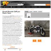 22 November 2012 Motorpasion Moto  http://www.motorpasionmoto.com/custom/ducati-monster-s4r-por-paolo-tesio