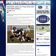 17 May 2013 LeNAF - Lega Nazionale di American Football  http://www.lenaf.it/?p=8626
