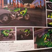 2016 Kawasaki H2LD Lussiana Disegno in Japan