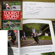 "July 2015 on the book ""Tourist Trophy, vive chi rischia"" written by Mario Donnini my photo of Tommaso Totti"