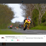 December 2015 Road Racing News on Twitter