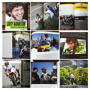 "October 2015 In the book ""Guy Martin: Portrait of a Bike Legend"" written by Phil Wain"