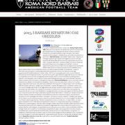 27 February 2013 Barbari Roma Nord  http://www.barbariromanord.com/news/2013-i-barbari-ripartono-dai-grizzlies