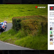 15 August 2014 Guy Martin to Dainese  https://www.facebook.com/daineseofficial/photos/pb.88677828726.-2207520000.1421931387./10152359430038727/?type=3&permPage=1