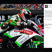 June 2016 AGV on Facebook NW200 North West 200
