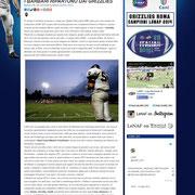 27 February 2013 LeNAF - Lega Nazionale di American Football  http://www.lenaf.it/?p=6436